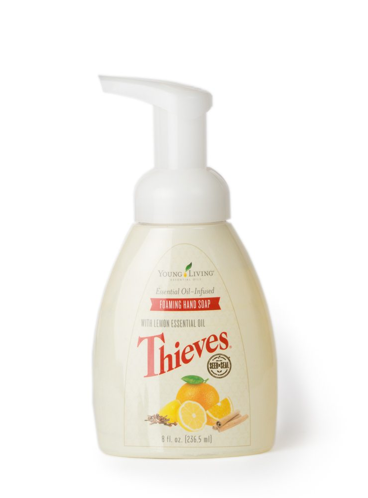 thieves foaming soap