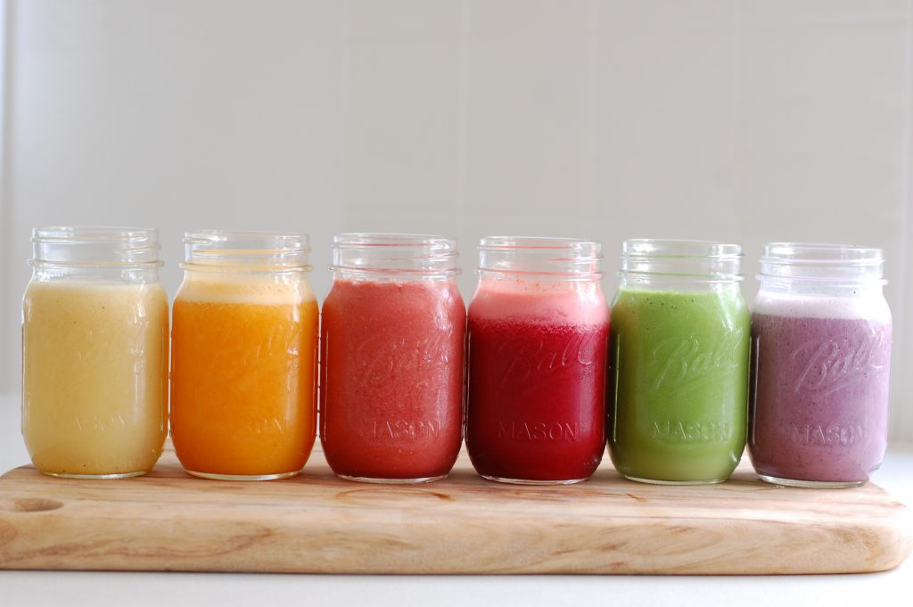 6 smoothies