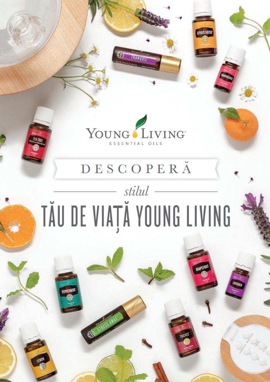 Stilul tau de viata Young Living - brosura