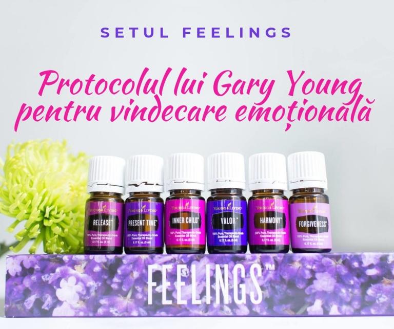Setul Feelings - Protocolul de vindecare emotionala - titlu_resized