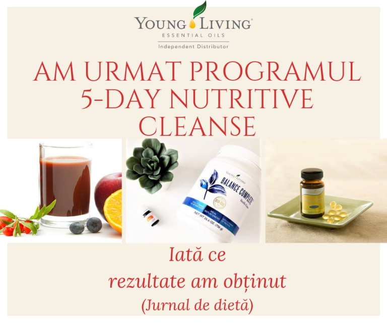 Jurnal dieta 5- Day Nutritive Cleanse - titlu